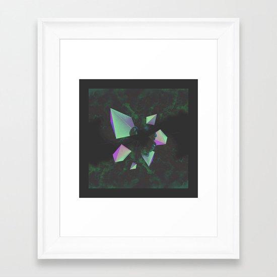 Disassembled Framed Art Print