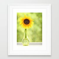Soak Up The Sun Framed Art Print