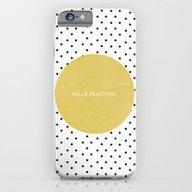 GREEN HELLO BEAUTIFUL - … iPhone 6 Slim Case