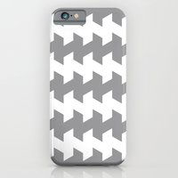 jaggered and staggered in alloy iPhone 6 Slim Case