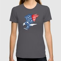 American Eagle Womens Fitted Tee Asphalt SMALL