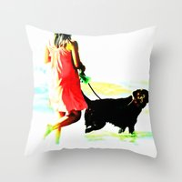 Untitled, Oct. 2012 Throw Pillow