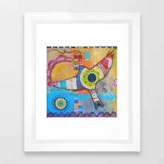 Soaring Above Framed Art Print
