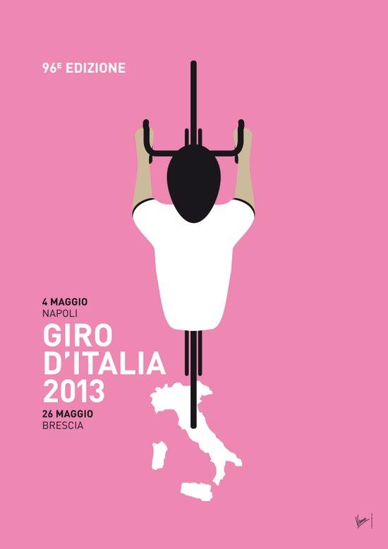 MY GIRO D' ITALIA MINIMAL POSTER Canvas Print