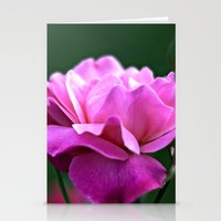 una rosa Stationery Cards