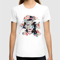JuLiE RuiN!!! Womens Fitted Tee White SMALL