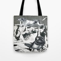 Yes, It's Safer Up Here … Tote Bag