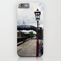 Waiting For A Train iPhone 6 Slim Case