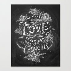 Harry Potter - The Ones That Love Us Canvas Print