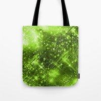 Dazzling Series (Green) Tote Bag