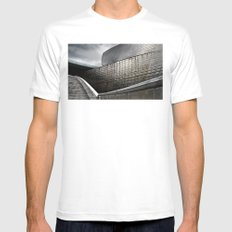 Guggenheim  Mens Fitted Tee White SMALL
