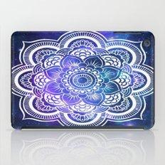 Mandala: Violet & Teal Galaxy iPad Case