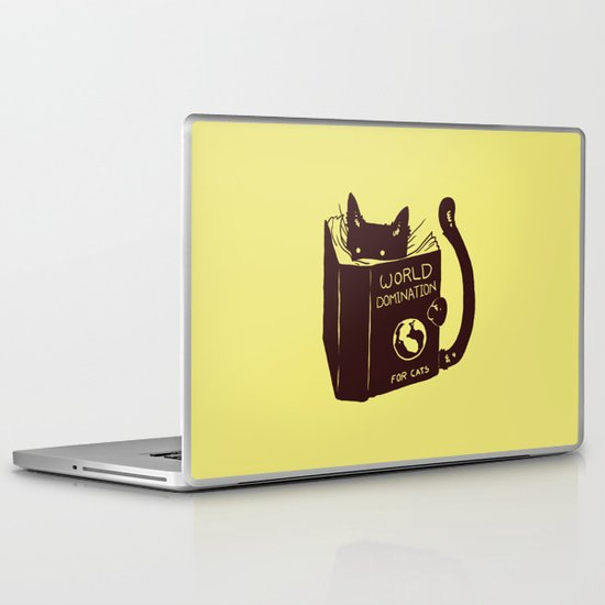 World Domination (for cats) Laptop & iPad Skin