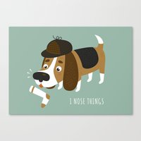 I Nose Things Canvas Print