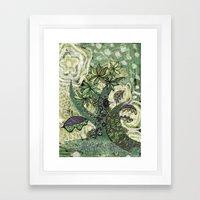 jungle 2 Framed Art Print