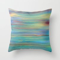 Abstract Painting 4 Throw Pillow