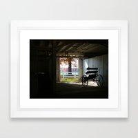 Exposed By Light Framed Art Print