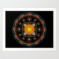 Pattern 001 Art Print