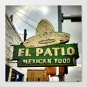 El Patio Canvas Print