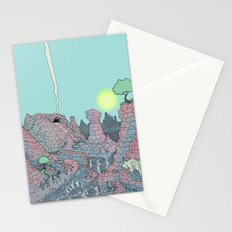 There be Dragons Stationery Cards