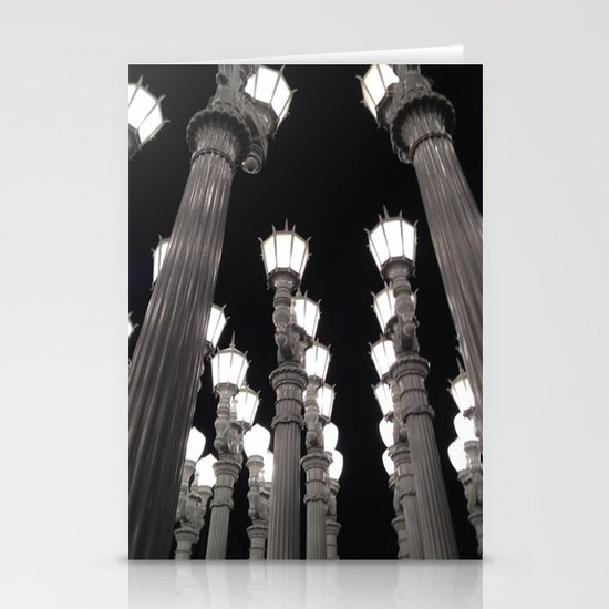 Lamps Stationery Card