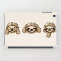 No Evil Sloth iPad Case