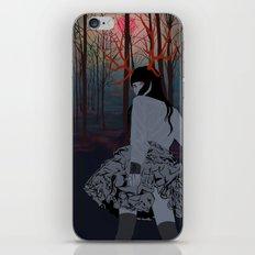 Antler Mystic Girl iPhone & iPod Skin