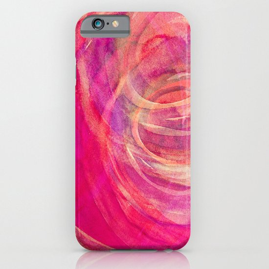 colour swirl iPhone & iPod Case