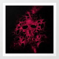Death on Deep Space Art Print