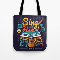 Psalm 33 Tote Bag