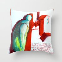 MECCANICA CELESTE Throw Pillow
