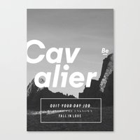 The Cavalier Canvas Print