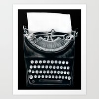 These Books Must Be Dest… Art Print
