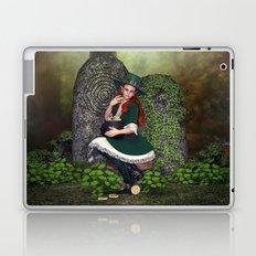 Leprechaun Lass Laptop & iPad Skin