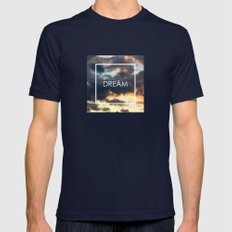 Dream  Mens Fitted Tee Navy SMALL