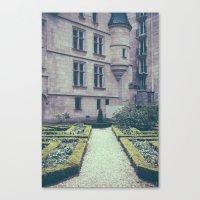 French Garden Maze II Canvas Print