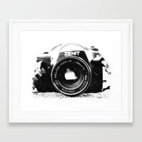 Basic is better Framed Art Print