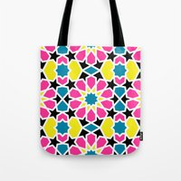 Arabesque CMYK Tote Bag