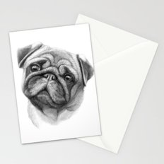 The Pug G123 Stationery Cards
