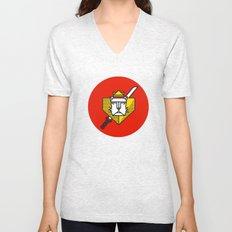 Gryffindor House Crest Icon Unisex V-Neck