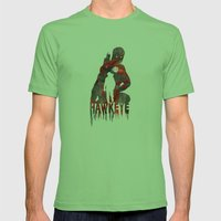 Hawkeye Print Mens Fitted Tee Grass SMALL