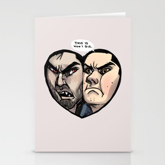 Sterek Stationery Card