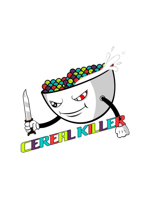 Cereal Killer Art Print