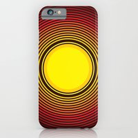 iPhone & iPod Case featuring Sun by Marcio Pontes