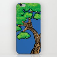 tree love iPhone & iPod Skin