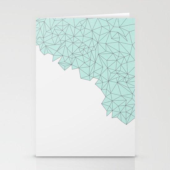 Crystal Stationery Card