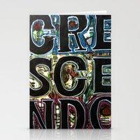 Crescendo Stationery Cards