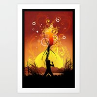 Set Free Art Print