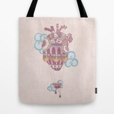 Light at heart (come fly with me) Tote Bag