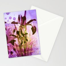 Iris and light Stationery Cards